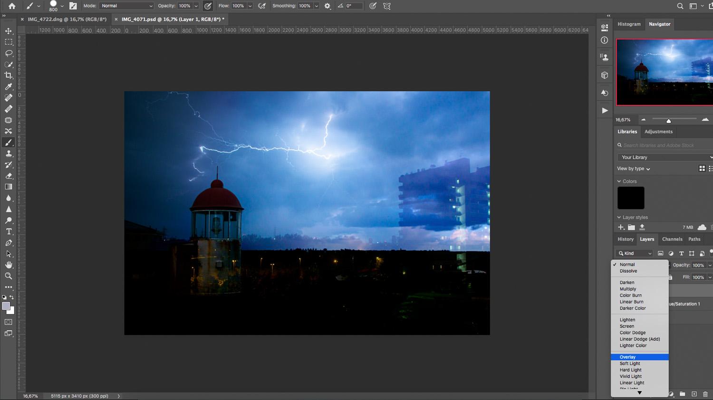 Photoshop simple composite technique