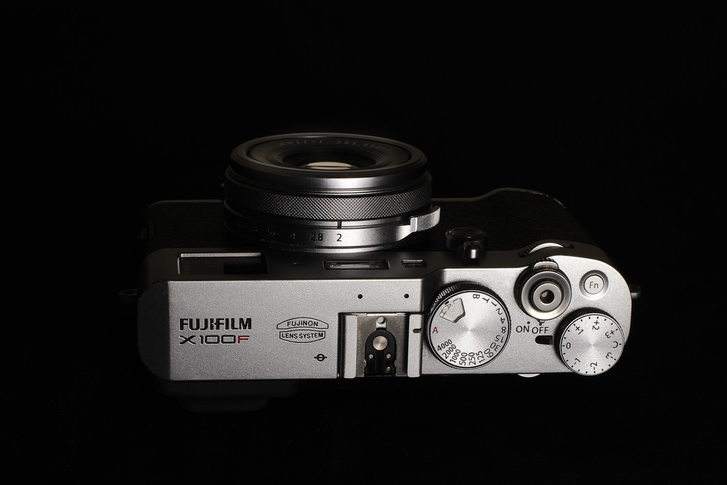 The Fujifilm X100F camera