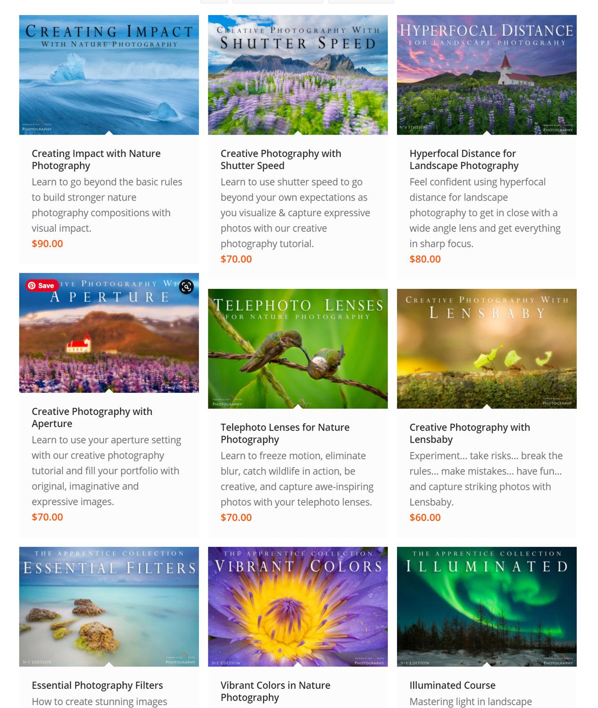 Cursos em vídeo sobre Visual Wilderness