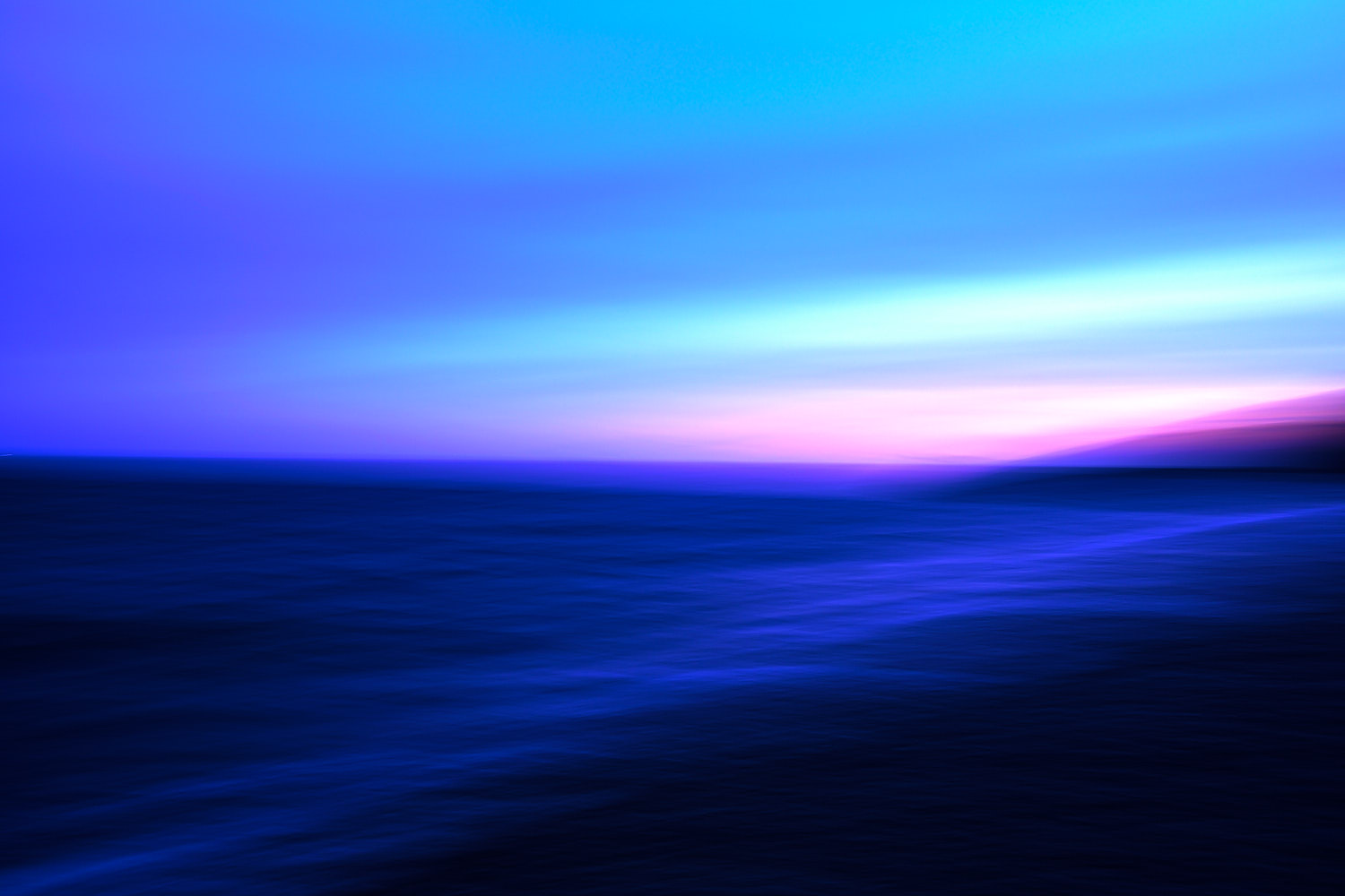 Blurry Seascape