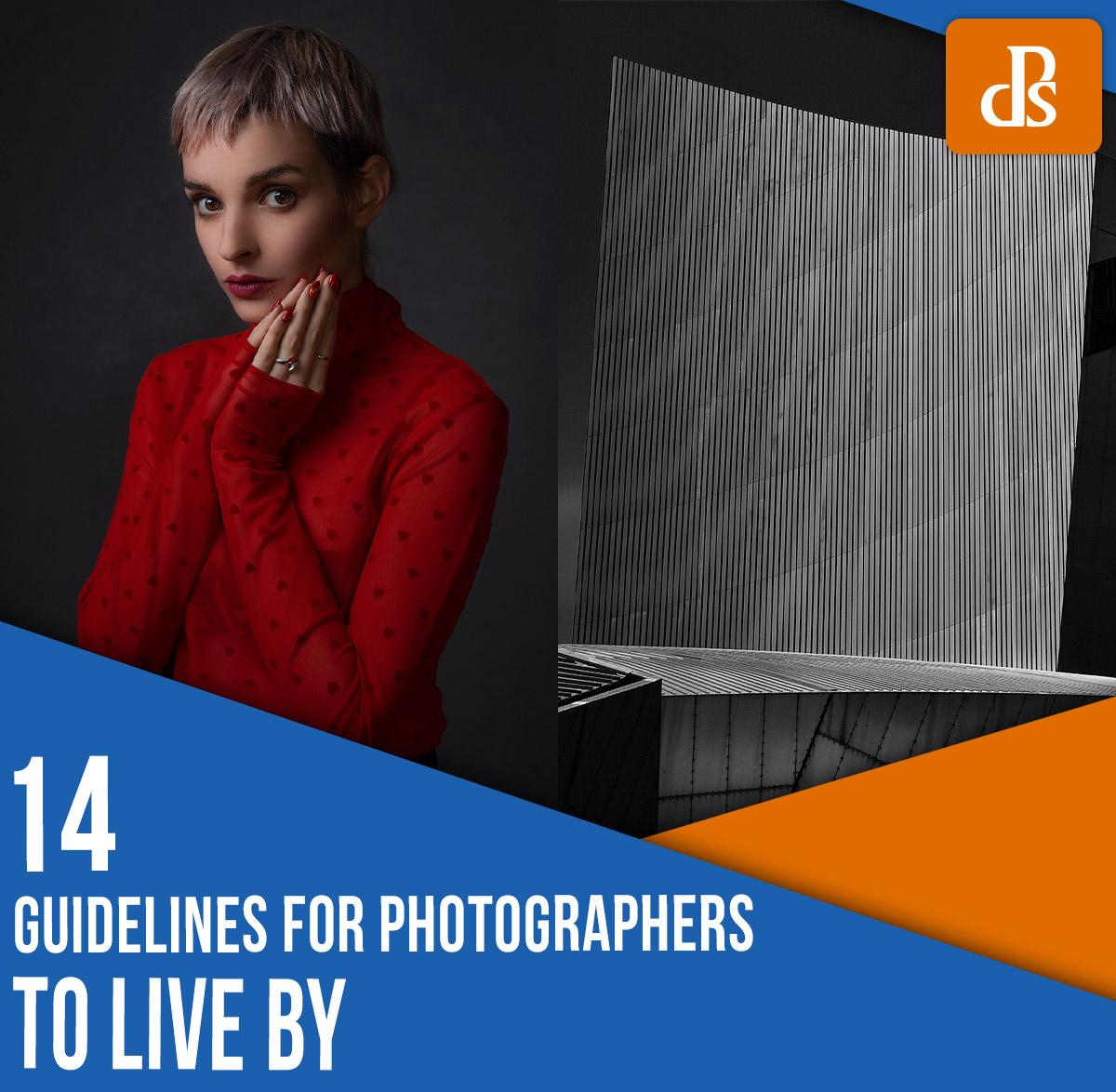 diretrizes para fotógrafos viverem