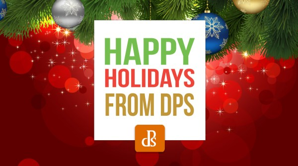 Happy Holidays 2020 From the dPS Team