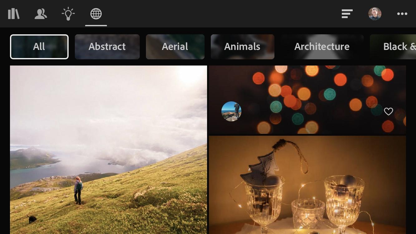 Adobe Creative Cloud Discover
