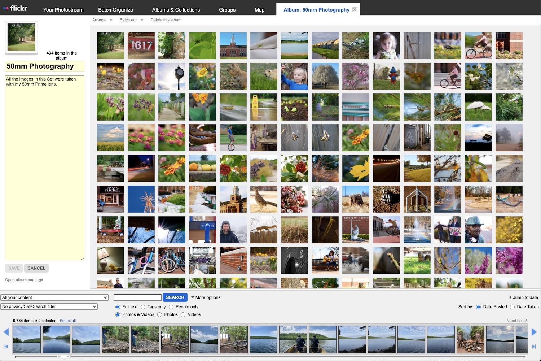 Flickr album