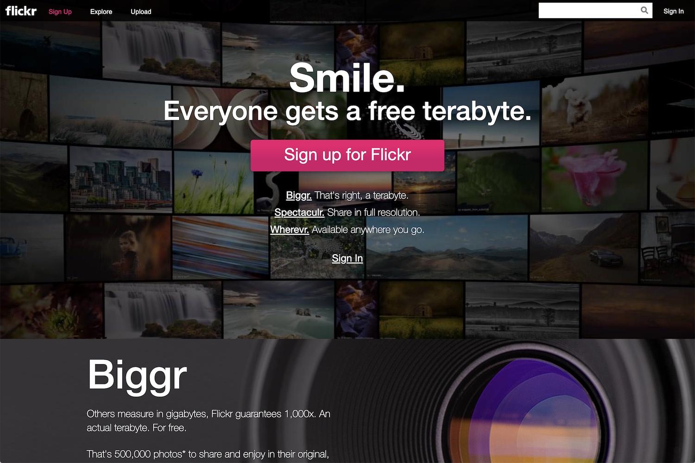 Best Online Photo Storage Flickr Redesign