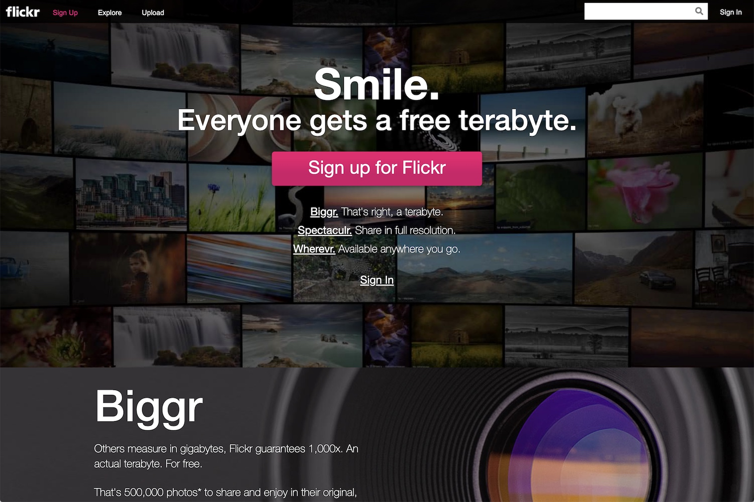 Best Online Photo Storage Flickr Redesign