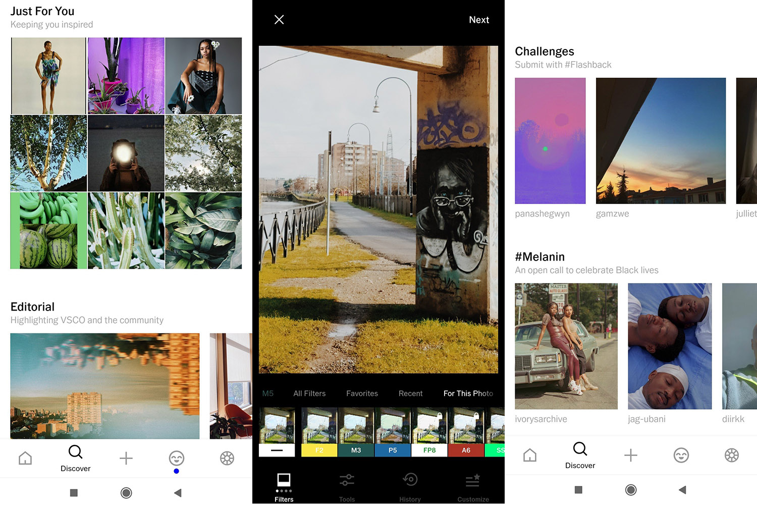 best photo filter apps vsco