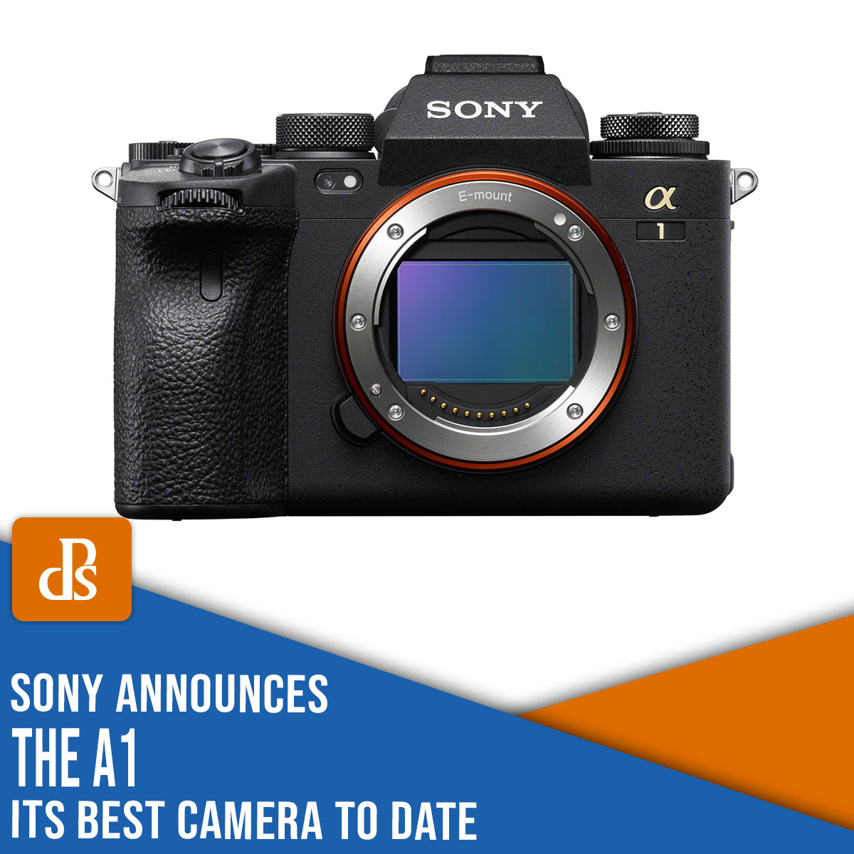 Sony a1 announcement