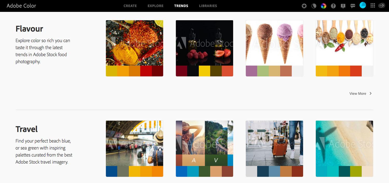 Use composição de cores na fotografia