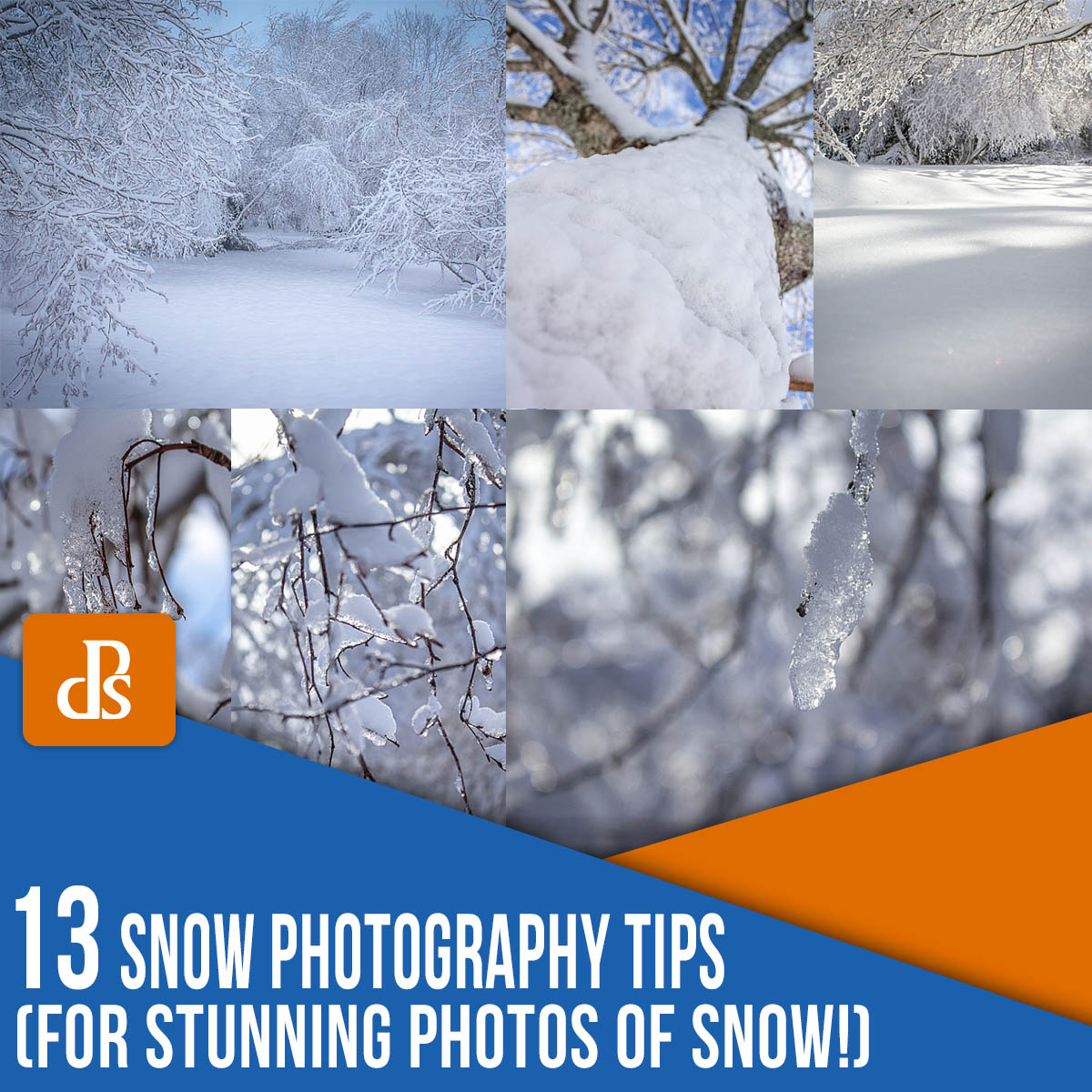 snow photography tips for beginners