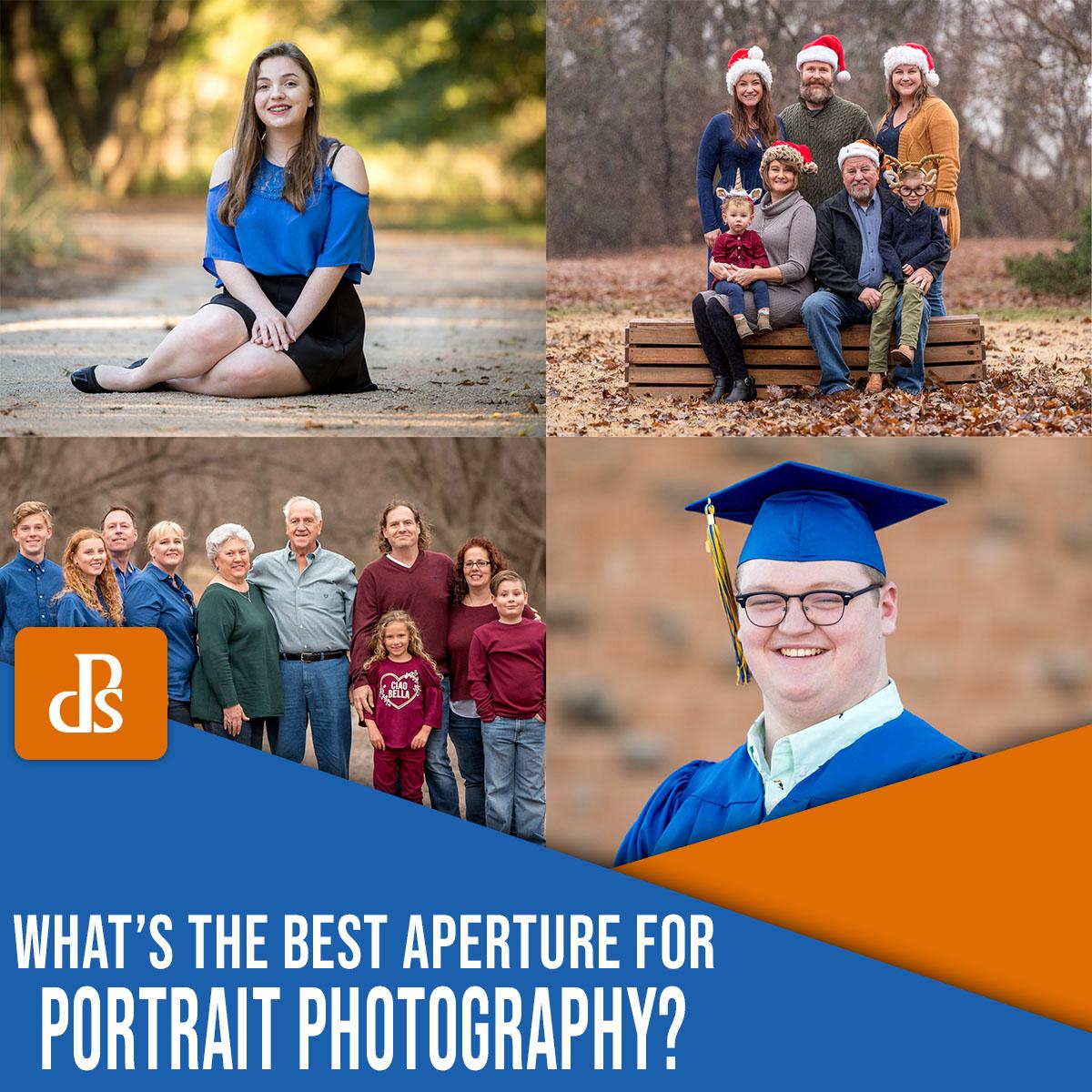a melhor abertura para retratos
