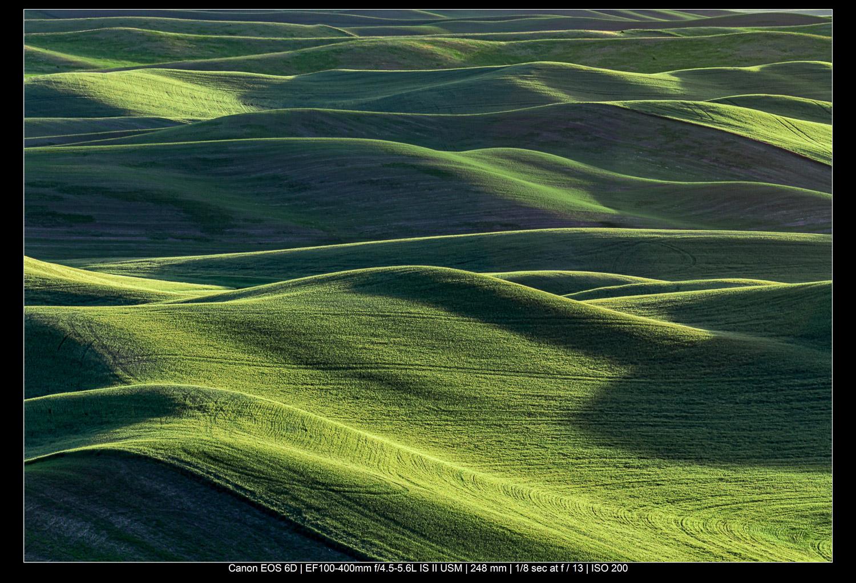 paisagem abstrata colorida foto