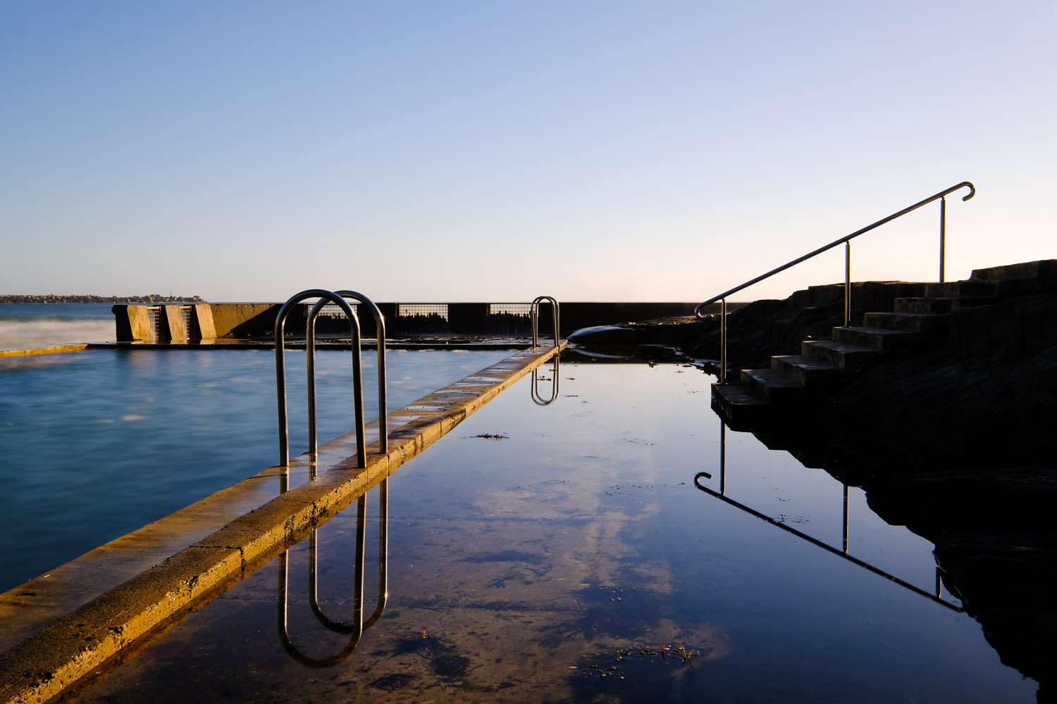 ocean pool ND filters for long exposure photography
