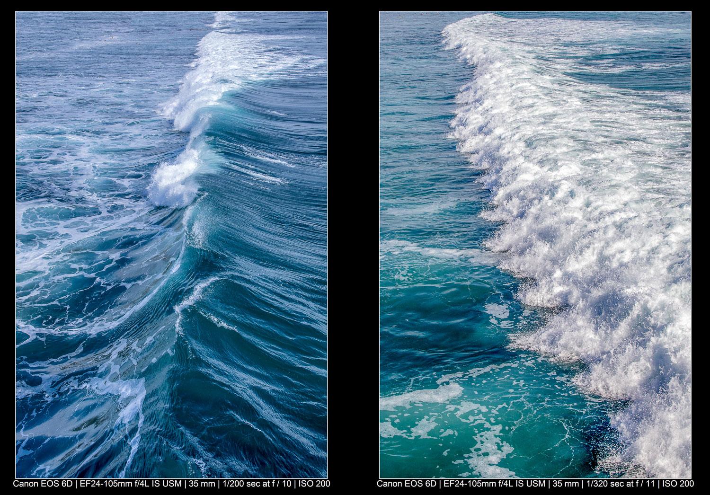 Fotografia de paisagem abstrata - Perspectiva superior
