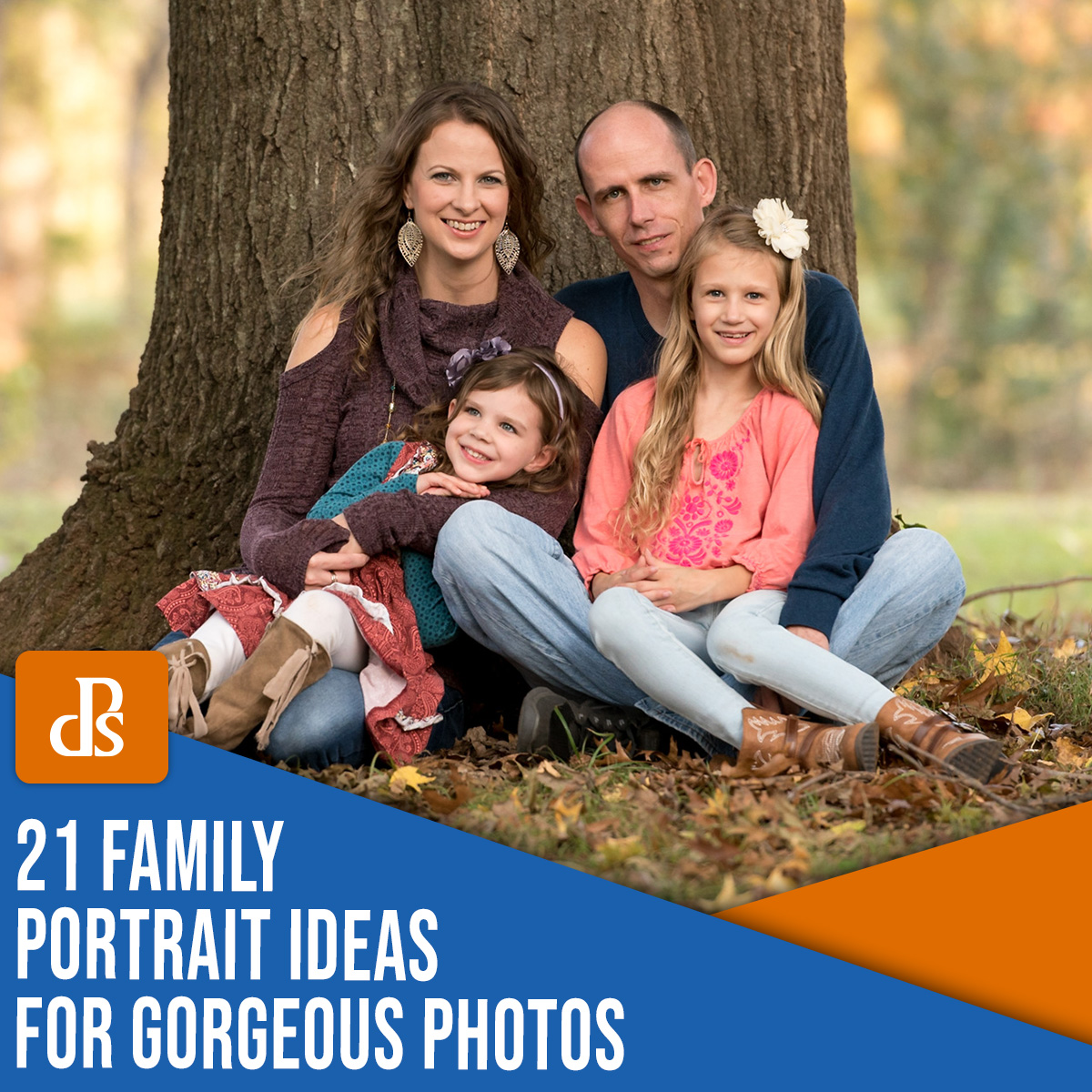 21 ideias de retrato de família para belas fotos
