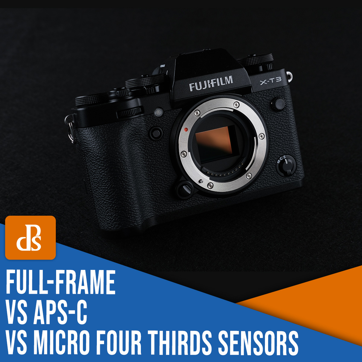 full-frame vs APS-C vs Micro Four Thirds camera sensors explained
