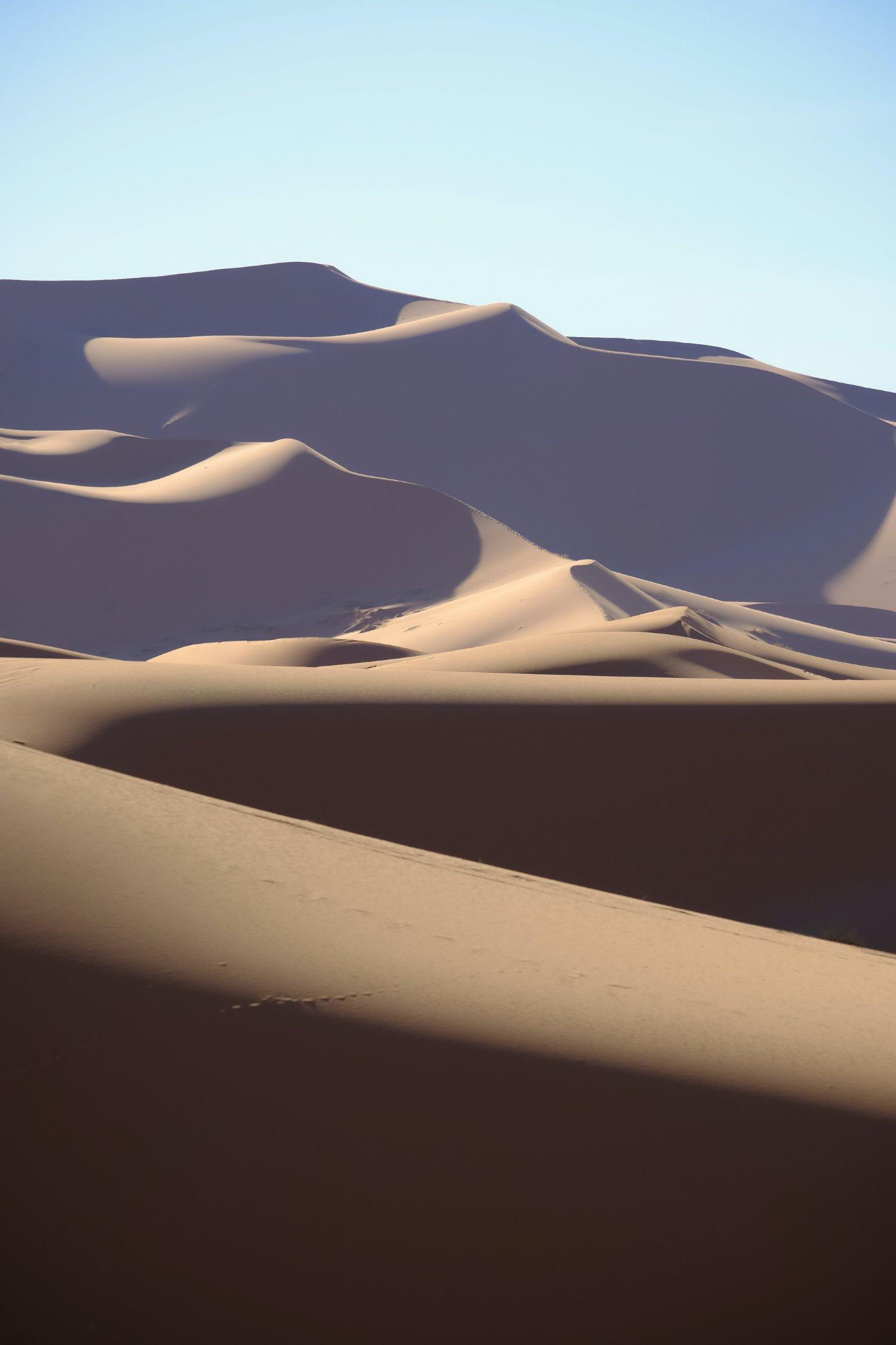 dicas para fotografar paisagens de dunas de areia