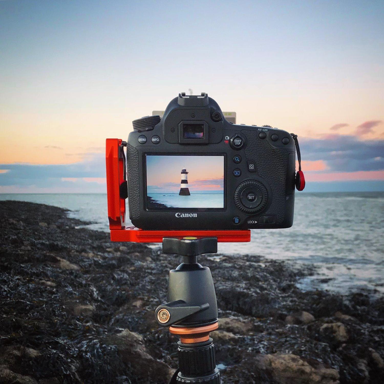 camera using Live View