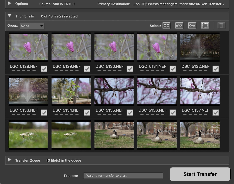 Nikon NX Studio Review Import