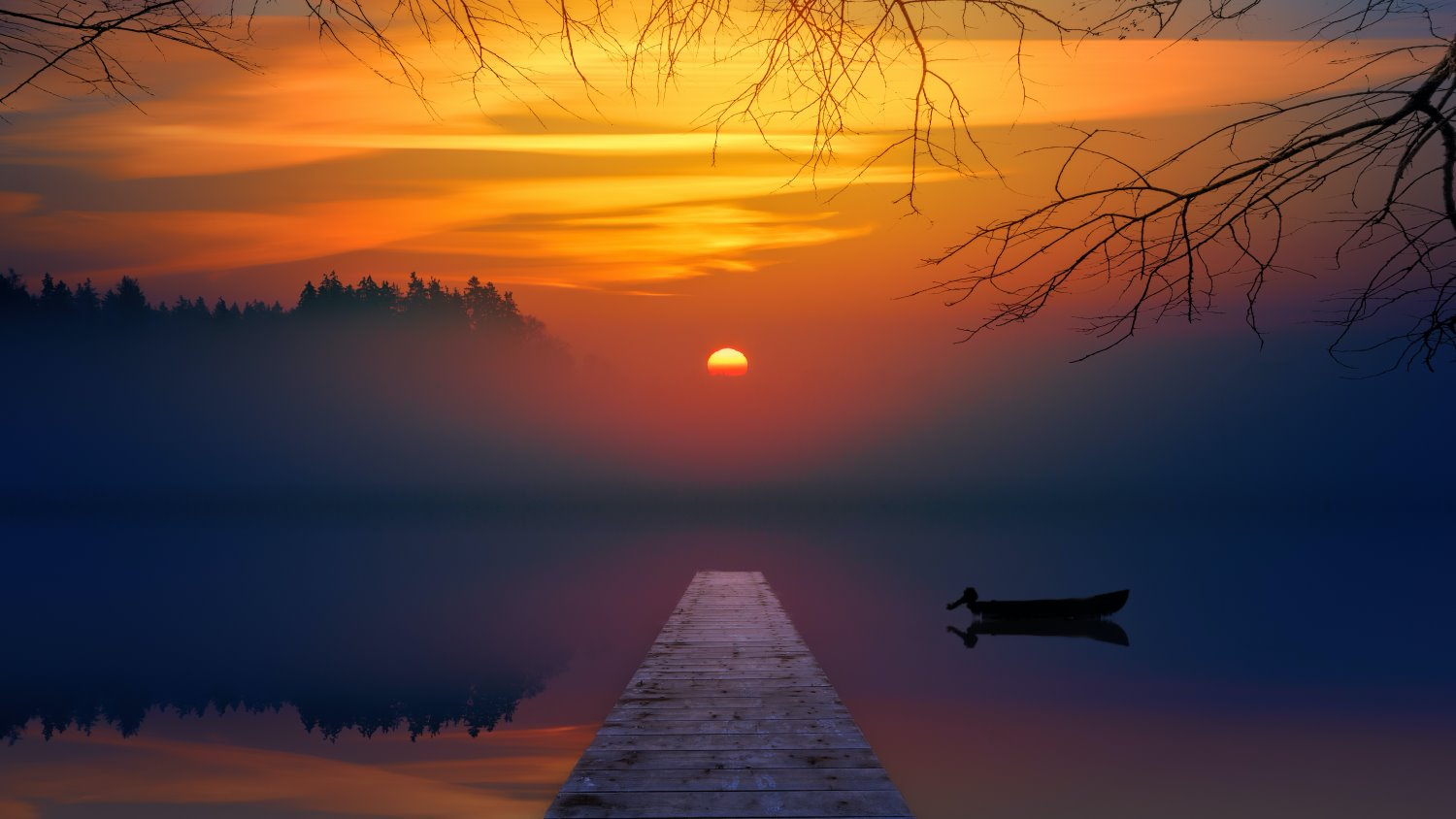 sunset photography tips dock with boat
