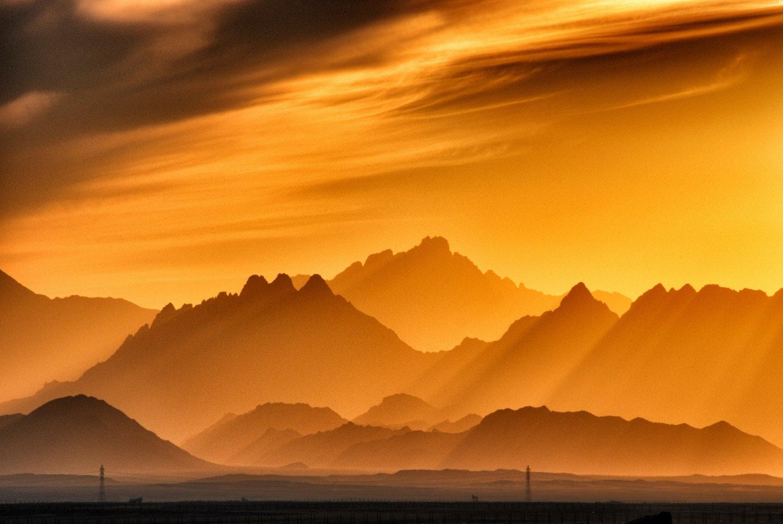 sunset photography tips sunbeams