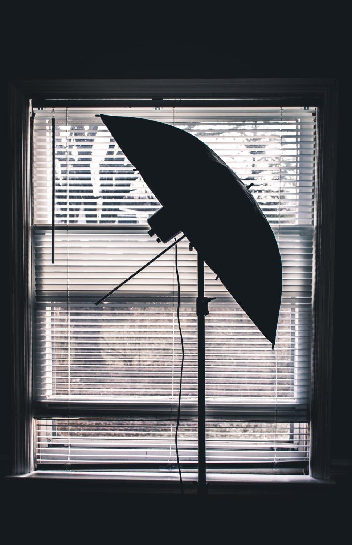 using flash diffusers and reflectors umbrella