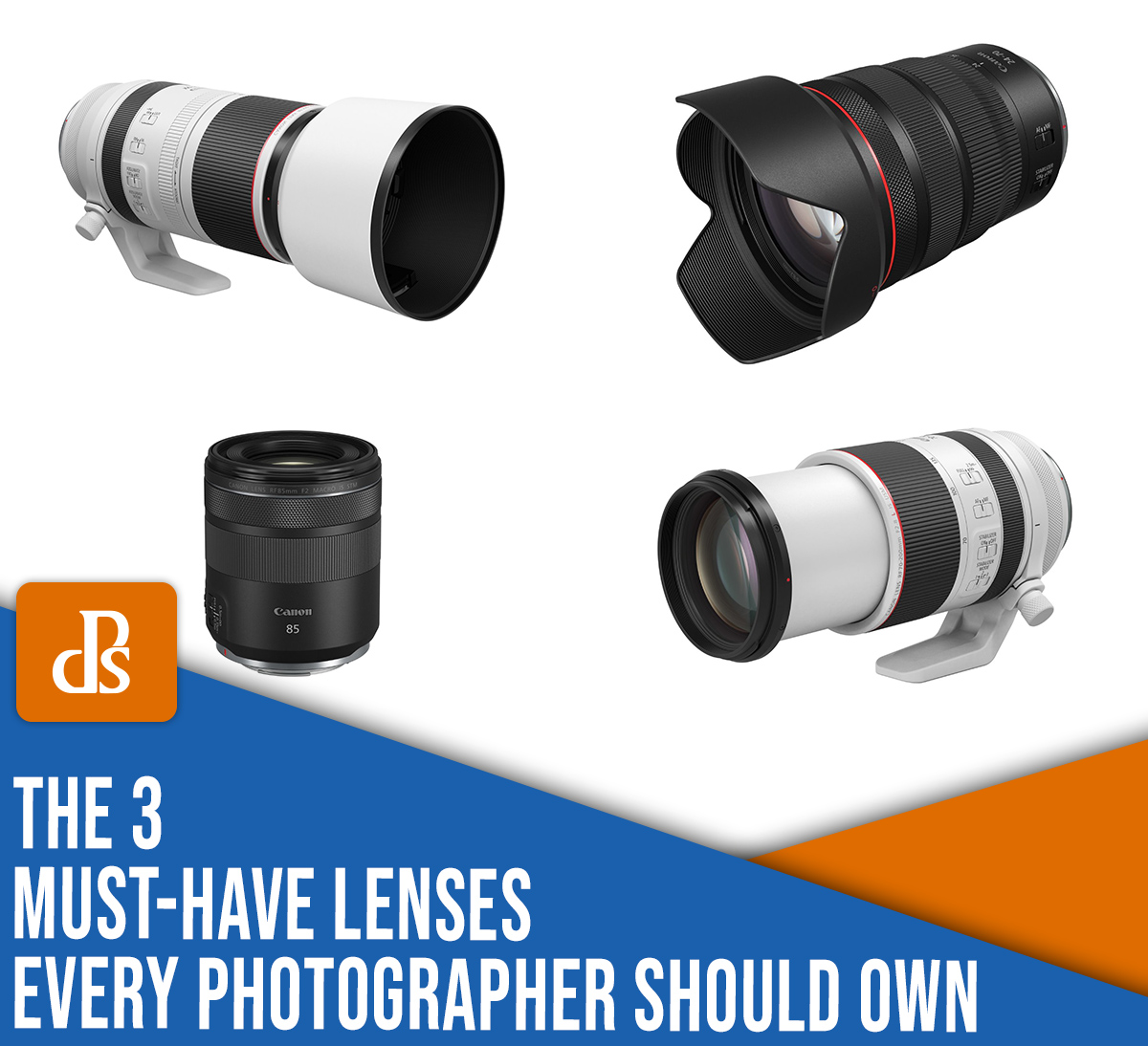 The 3 Must-Have Camera Lenses Every Photographer Should Own
