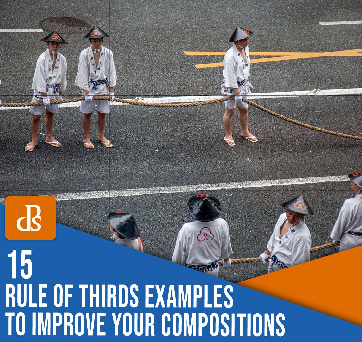 15 exemplos da regra dos terços para melhorar suas composições