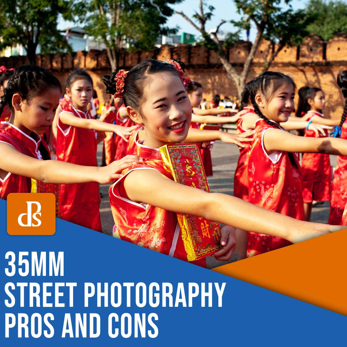 Prós e contras da fotografia de rua 35 mm