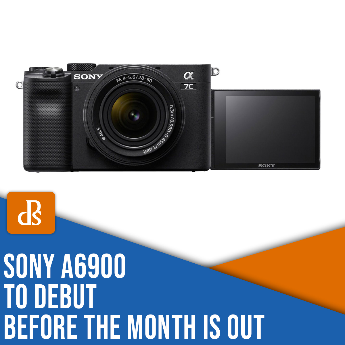 Sony a6900 to debut before the month is out