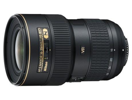 Nikon 16-35mm f/4 lens