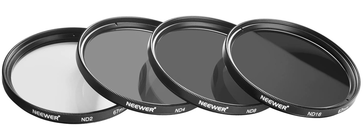 set of Neewer ND filters