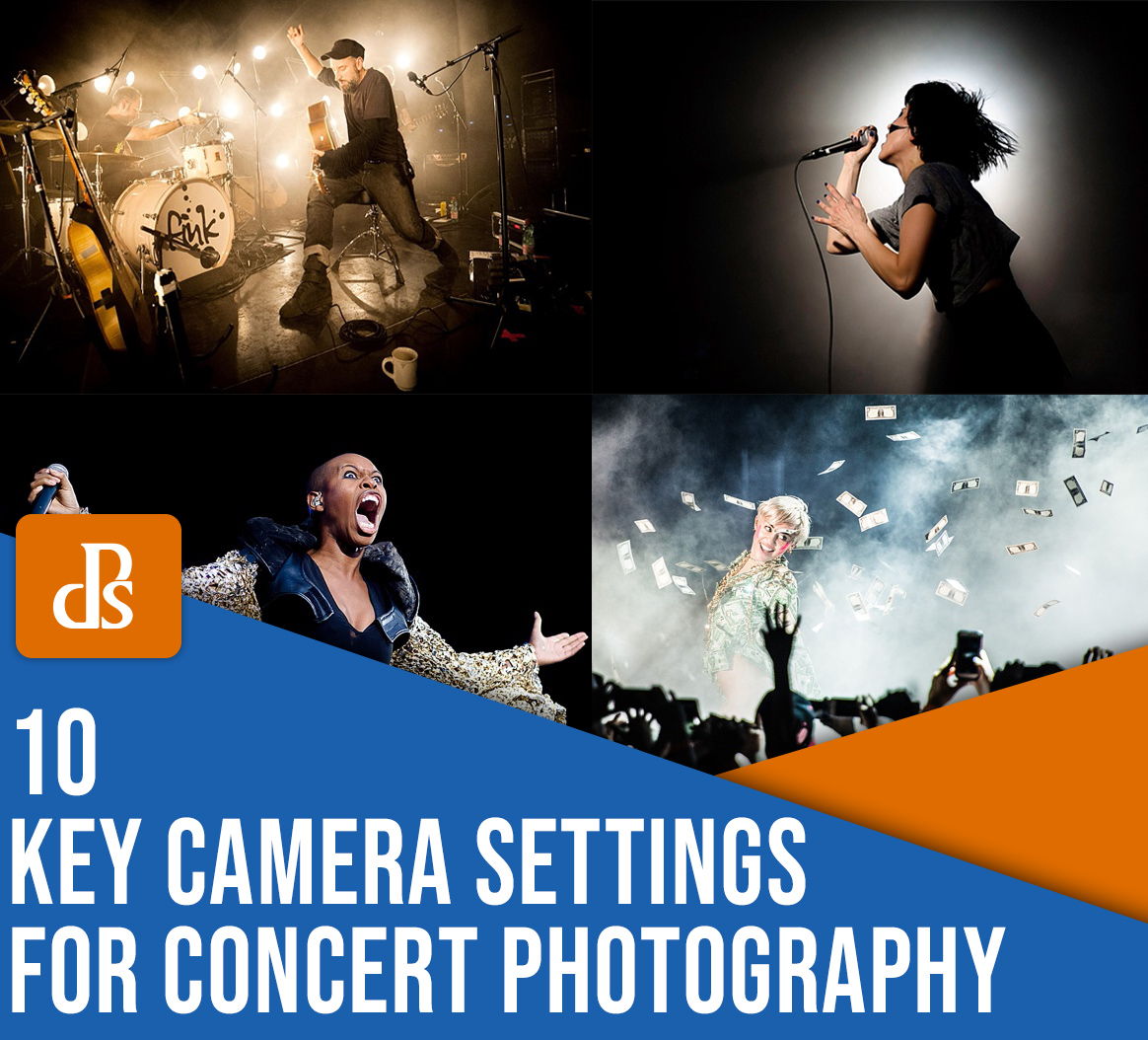 10 key camera settings for concert photography