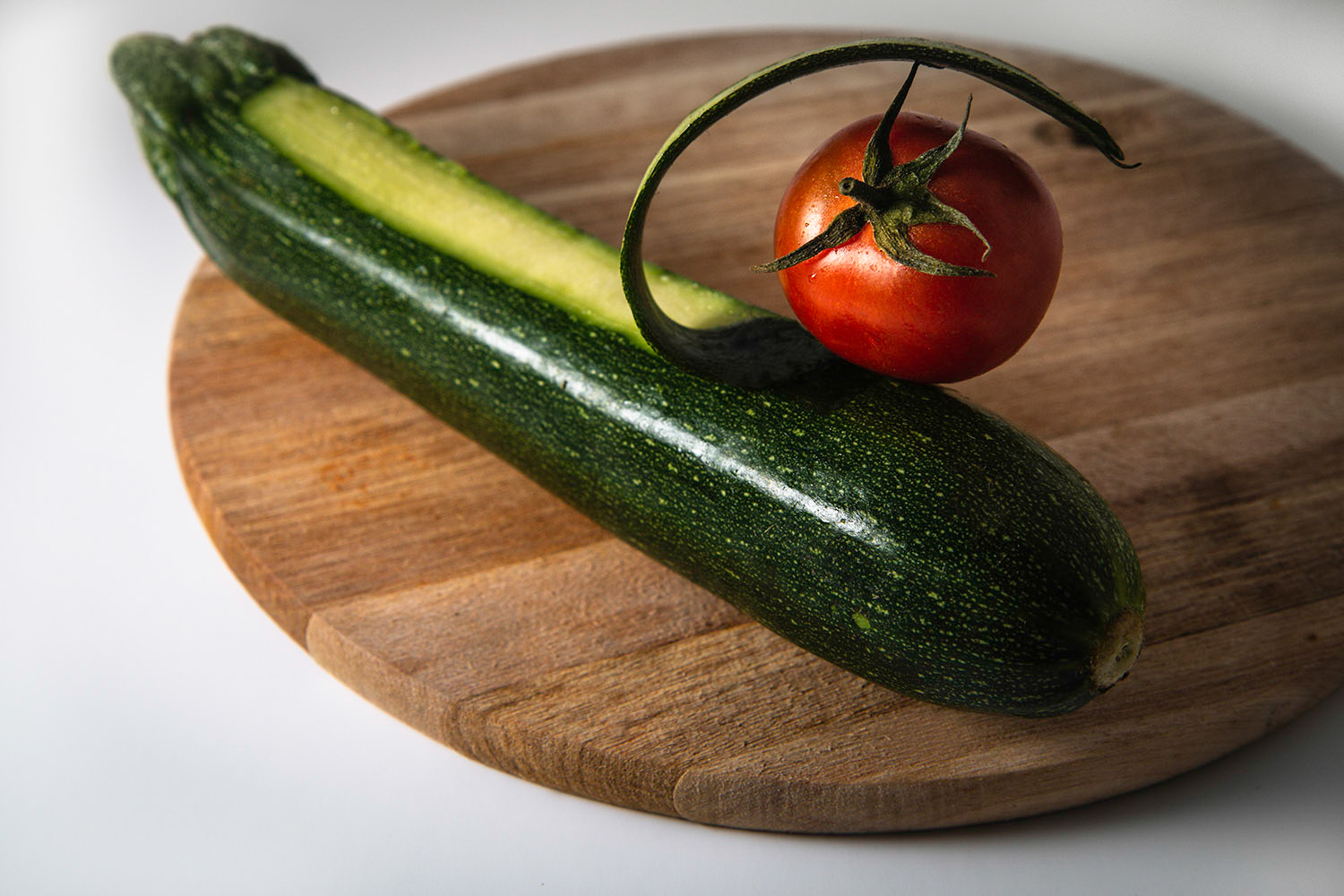 vegetable photography composition