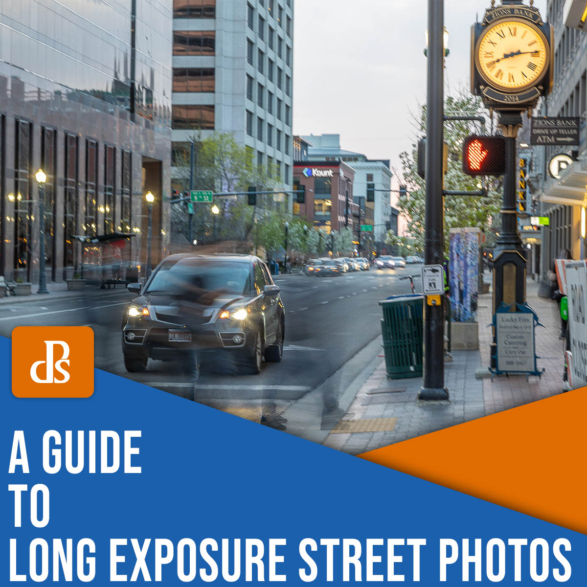 a guide to long exposure street photos