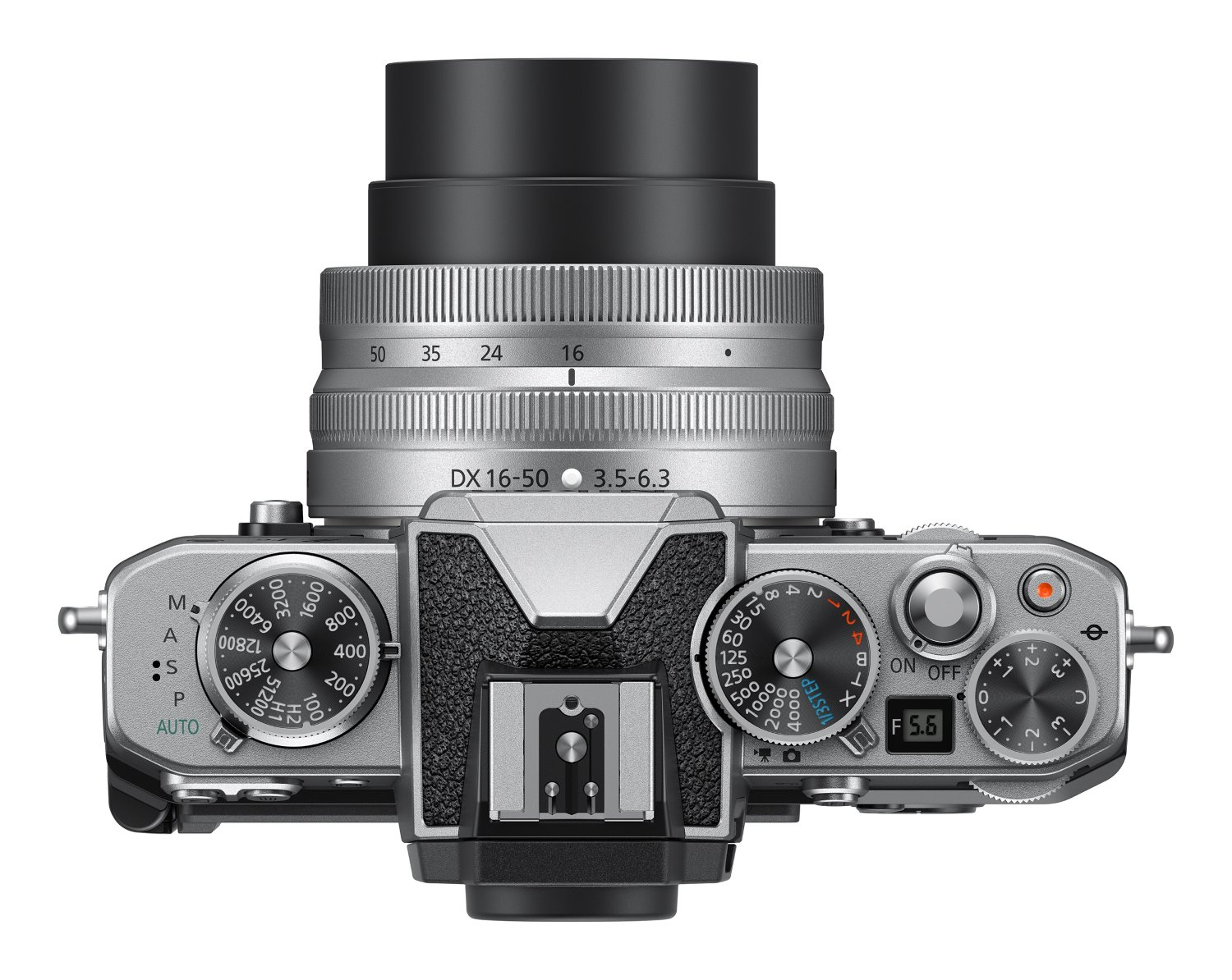 Nikon Z fc viewed from above