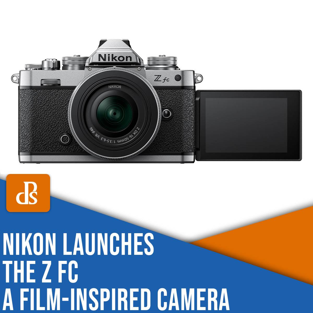 Nikon launches the Z fc