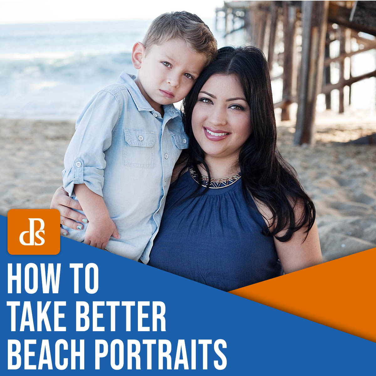 how to take better beach portraits