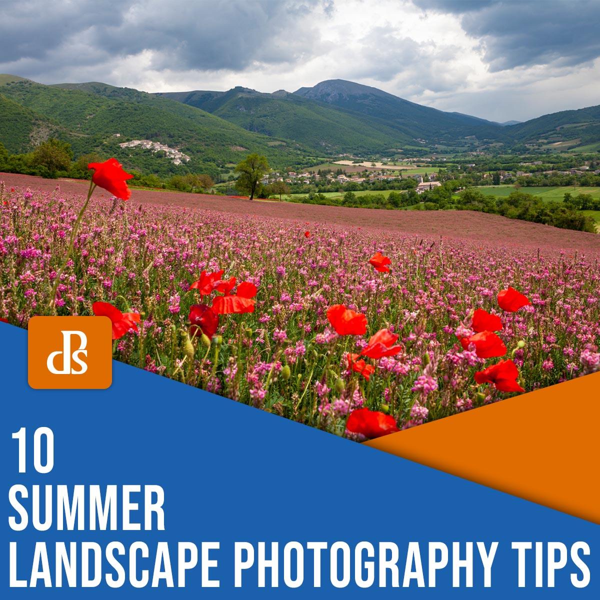 10 summer landscape photography tips