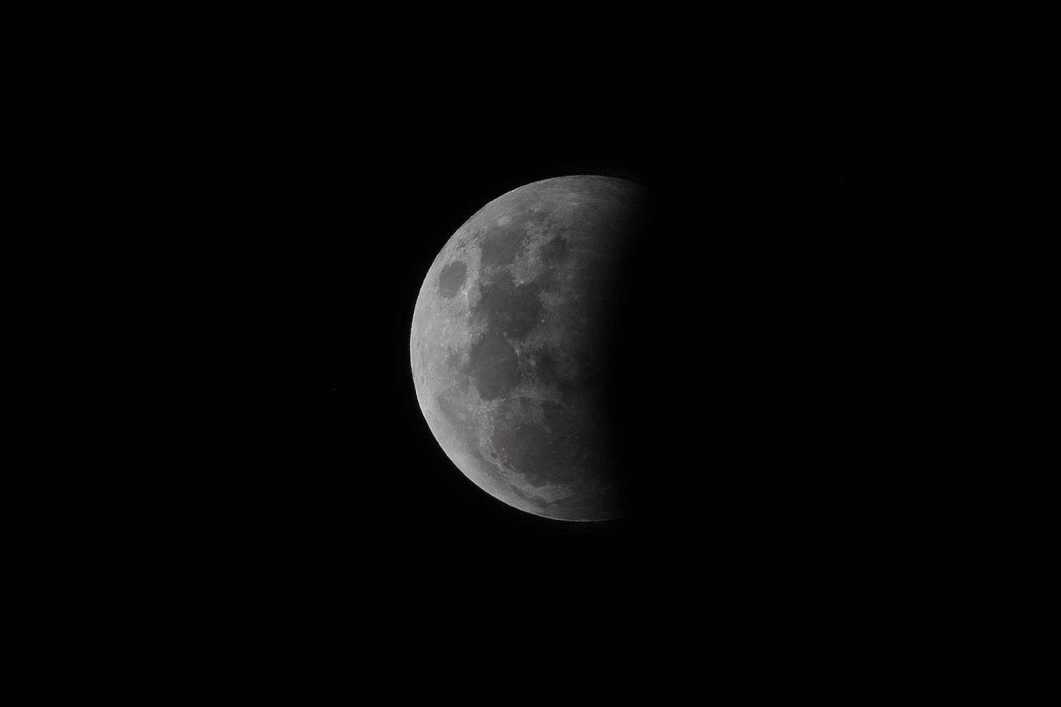 astrophotography of the moon