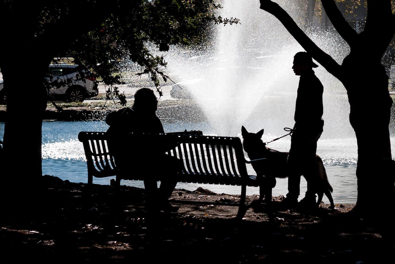 50mm Street Photography Fountain