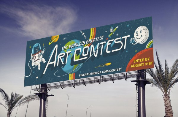 Photo Contest Alert: Announcing a (Free!) Billboard Contest From Fine Art America