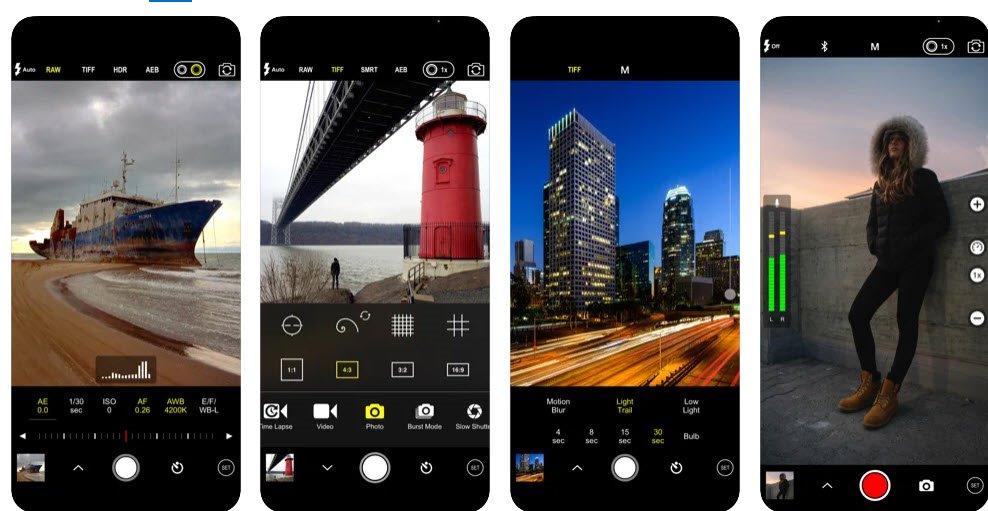 ProCam 8 app