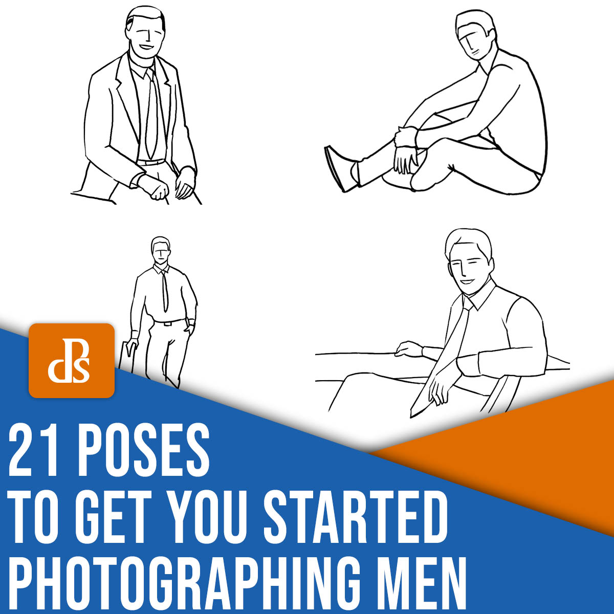 21 poses to get you started photographing men