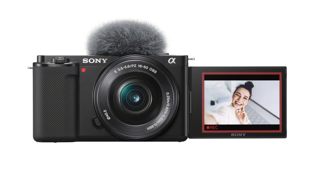 The Sony ZV-E10 vlogging camera