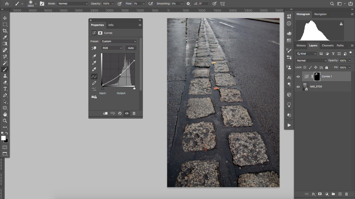 How to remove glare in Photoshop using dodge and burn