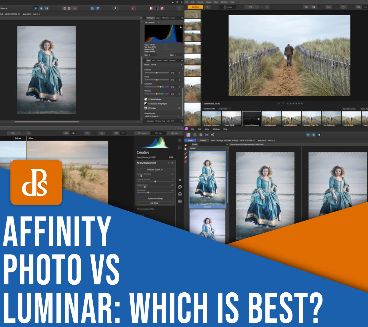Affinity Photo vs Luminar: Which Editor Is Best in 2021?