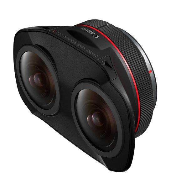 RF 5.2mm Dual Fisheye lens side view