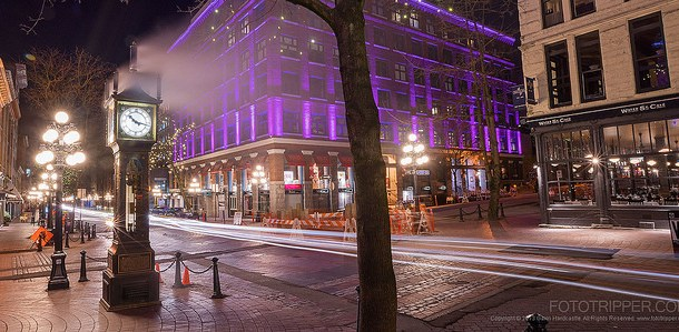 Image: 'Cold & Steamy' By Gavin Hardcastle – Location, Gastown, Vancouver, BC