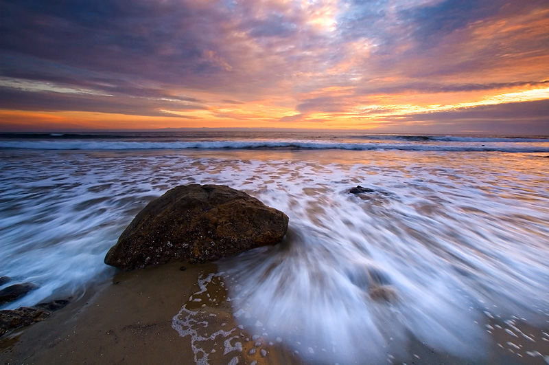 Capturing movement in landscape photography.